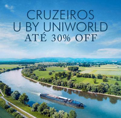 ★ Cruzeiros Fluviais U by Uniworld – Melhores Descontos – Pague em 6x sem juros!
