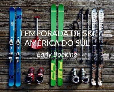 ★ Ski América do Sul – Early Booking – Garanta seu lugar e pague em 6x sem juros!