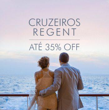 ★ Cruzeiros Regent Seven Seas – ATÉ 35% OFF – Pague em 6x sem juros!
