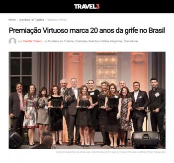 Premiação Virtuoso marca 20 anos da grife no Brasil