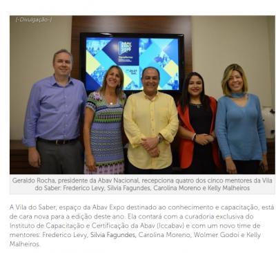 Abav Expo anuncia time de mentores para programação da Vila do Saber