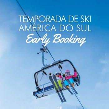 ★ Ski América do Sul – Early Booking – Descontos de até 40% com pagamento em 6x sem juros!