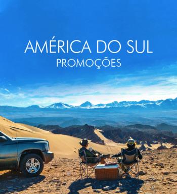 ★ América do Sul – Várias Promoções nos melhores Destinos!! – Pagamento em 6x sem juros!