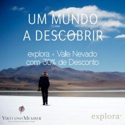 ★ Explora + Valle Nevado com 30% OFF em cada hotel!
