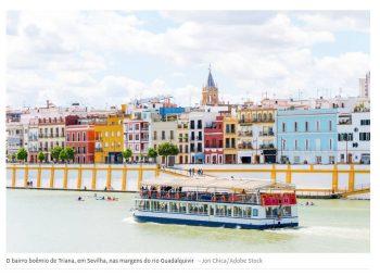 Sevilha oferece muitas camadas de história e prédios de beleza eterna