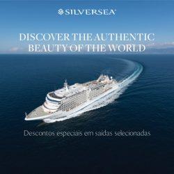 ★ Cruzeiros Silversea – Condições especiais para pagamentos até 31 Jul de 2019, em até 6x sem juros!