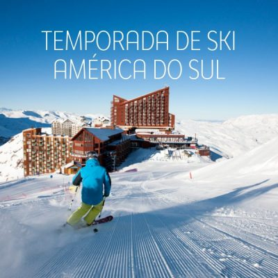 ★ Ski América do Sul – Descontos de até 30% com pagamento em 6x sem juros!