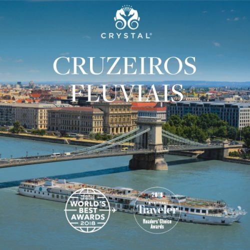 ★ Crystal Cruises – Navegando pelos mais belos rios da Europa, em até 6x sem juros!