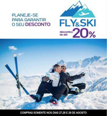 Acaba Amanhã! – Até 20% OFF – Club Med Fly & Ski – 8x sem juros – nos dias 27, 28 e 29 de Agosto.