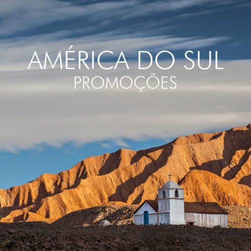 ★ América do Sul – Várias Promoções nos melhores Destinos! – Pagamento em 6x sem juros!