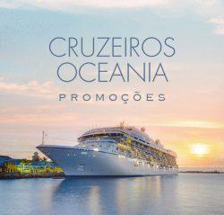 ★ Cruzeiros Oceania – Até 35% OFF nas ofertas de Setembro