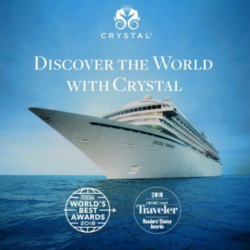 ★ Crystal Cruises – Agora pelos preços que você sempre sonhou em até 6x sem juros!