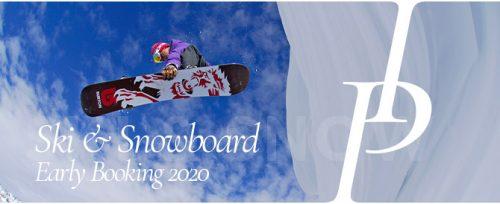 Ski – Early Booking 2020 América do Sul. Aproveite as Promoções!